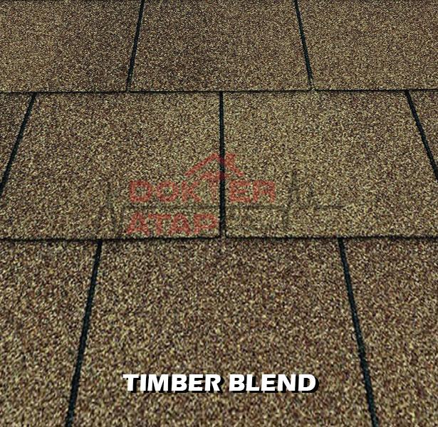 genteng aspal bitumen certainteed extra tough xt 25 timber blend