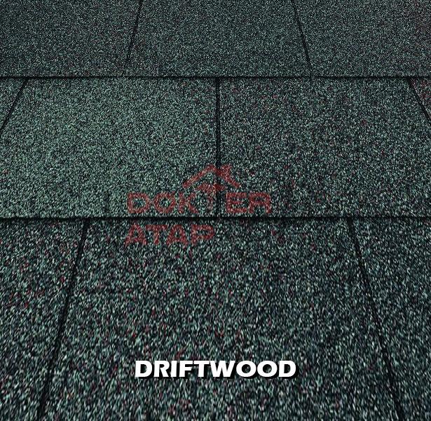 genteng aspal bitumen certainteed firescreen drift wood