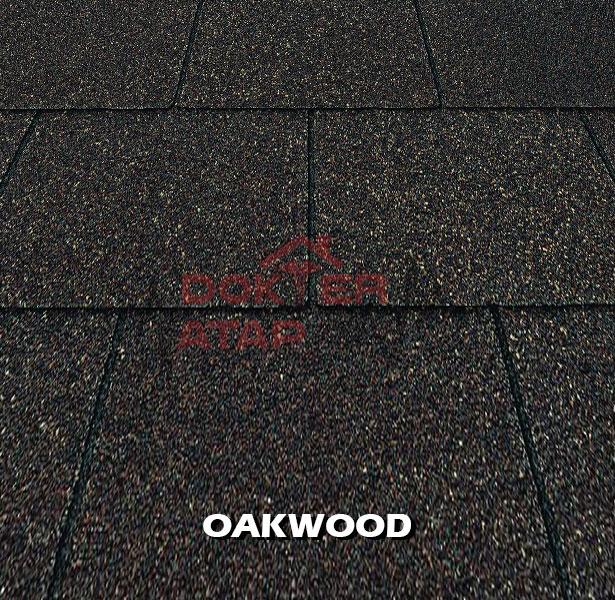 genteng aspal bitumen certainteed firescreen oakwood