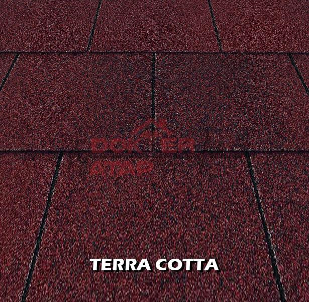 genteng aspal bitumen certainteed firescreen terra cotta