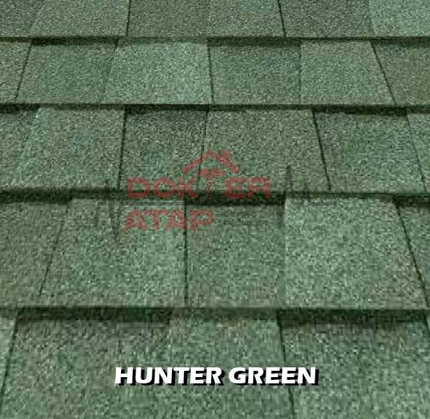 genteng aspal certainteed landmark atap bitumen hunter green