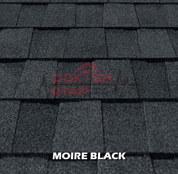 genteng aspal certainteed landmark atap bitumen moire black