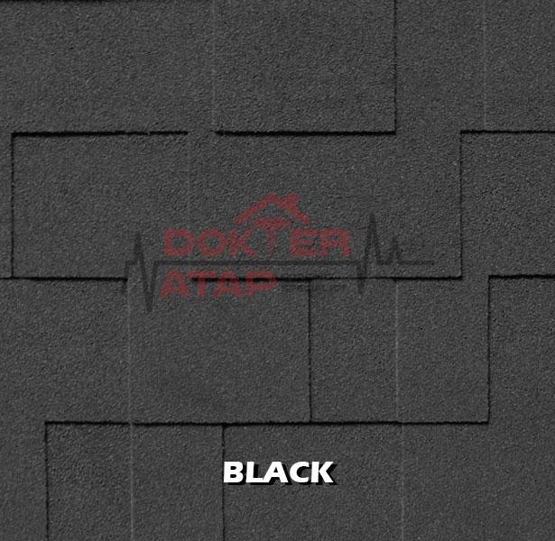 genteng aspal atap bitumen CTI CT5 murah black