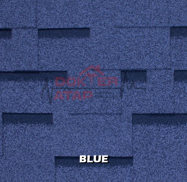 genteng aspal atap bitumen CTI CT5 murah blue