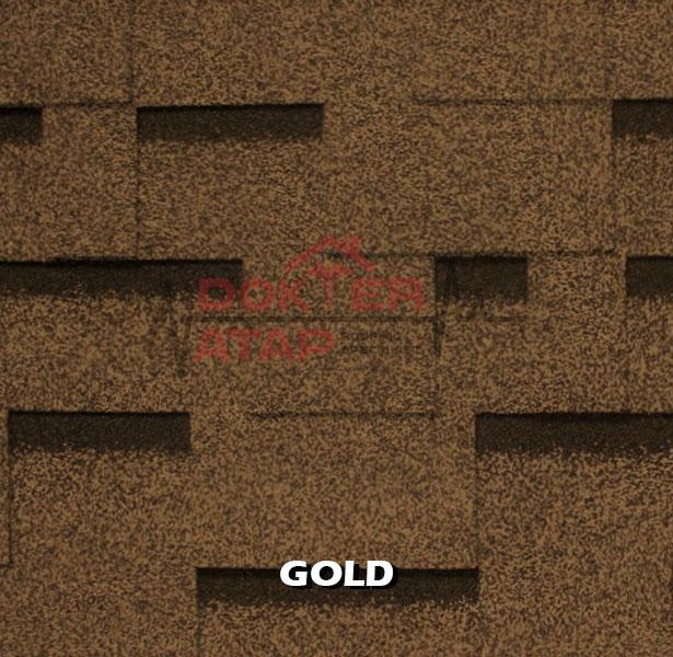 genteng aspal atap bitumen CTI CT5 murah gold