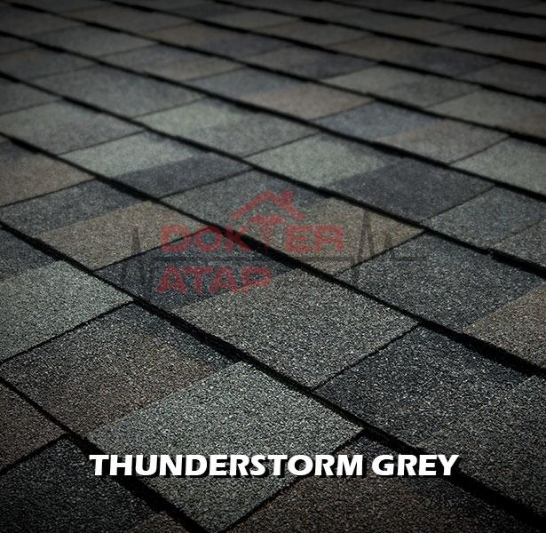tamko elite heritage, genteng aspal bitumen atap tamko thunderstorm grey