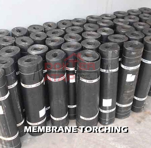 membrane bakar torching non sanded aksesoris atap bitumen genteng aspal