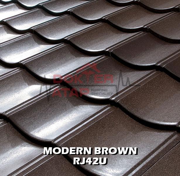rooga miyabi atap fiber cement kmew genteng semen fiber moder brown rj42u