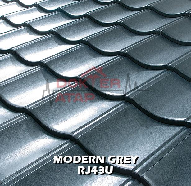 rooga miyabi atap fiber cement kmew genteng semen fiber moder grey rj43u