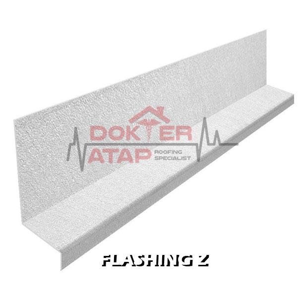 wall flashing z aksesoris atap genteng aspal bitumen